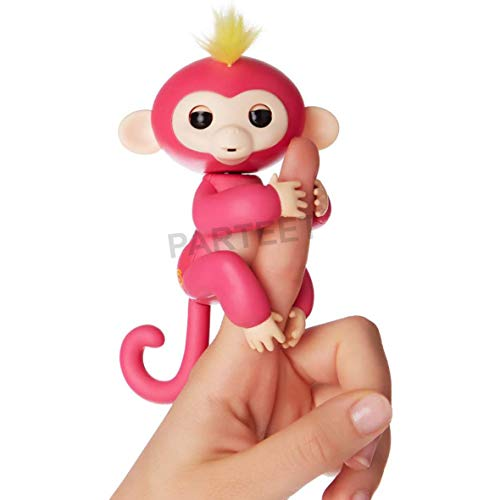 Fingerlings Interactive Baby Monkey Toy for Kids(1Pc)(Assorted Color)