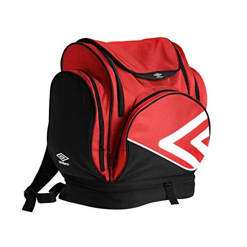 Umbro Pro Training Zaino Casual 45 centimeters 35 Rosso (Red/White/Black)