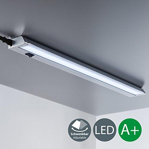 Luce LED sotto pensile cucina, luce bianca neutra 4000K, lampada moderna da incasso per...