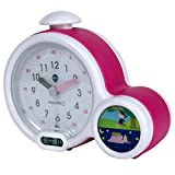 Claessens 'Kids ksmfacp Kid 'sleep Clock, mi primer Despertador, color rosa