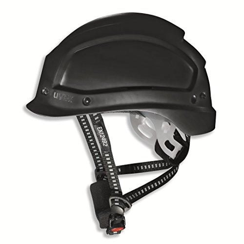 Uvex Pheos Alpine 9773 Casco de Seguridad - Casco de Protección Para Obra EN 397 EN 12492, Negro