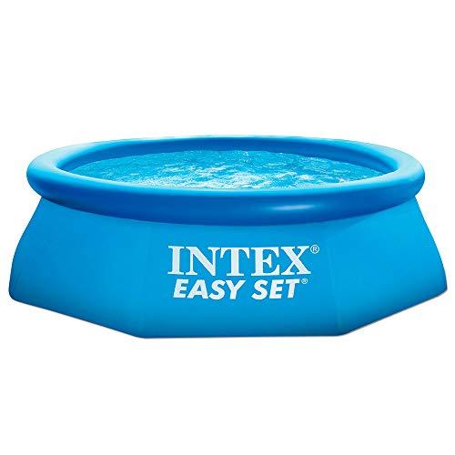 INTEX 28110 Easy Cm 244X76 Piscina Gioco Estivo Estate Giocattolo 827, 2400 Litri, 244 x 76 cm