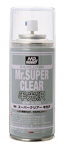 Mr.スーパークリアー スプレー 半光沢 B516