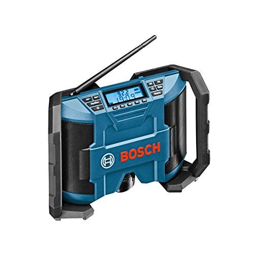 Bosch Professional Akku Baustellenradio GPB 12V-10 (ohne Akku, 10,8 V/12 V Akkubetrieb, im Karton)...
