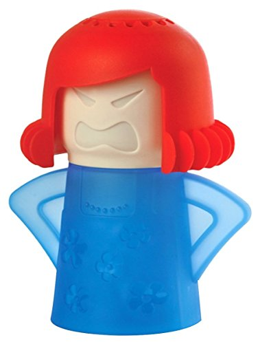 Angry Mamá Microwave Cleaner, TankerStreet Limpiador de Microondas – Base Azul