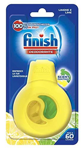 Finish Deodorante Lavastoviglie, Limone e Lime, 1 Confezione
