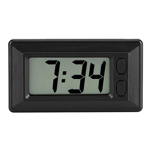 Termometro Orologio Digitale Da Auto Con Schermo LCD a Luce Blu data 24 ore Calendario con Magic...