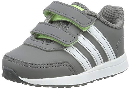 adidas Vs Switch 2 Cmf Inf, Pantofole Unisex-Bimbi, Multicolore (Gricua/Ftwbla/Amalre 000), 21 EU