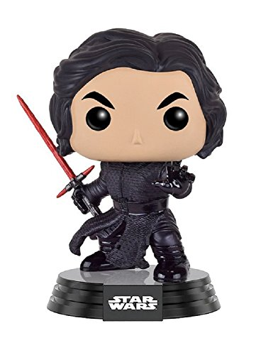 Funko Pop! - Bobble: Star Wars: E7 TFA: Kylo Ren Battle Damaged (9619)