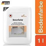 BEKATEQ BE-700 Bodenbeschichtung, 1l Schwarz, Betonfarbe seidenmatt, für innen und außen