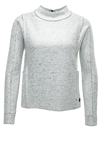 Only Damen Sweatshirt Pullover Pulli L S Highneck SWT - DAMENSTORE24 72963b9788
