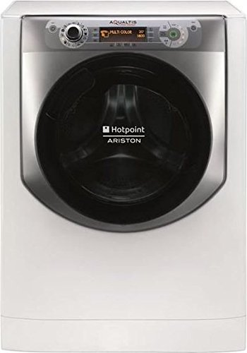 Hotpoint AQ107D 49D IT Freestanding Front-load 10kg 1400RPM A+++ Silver,White washing machine -...