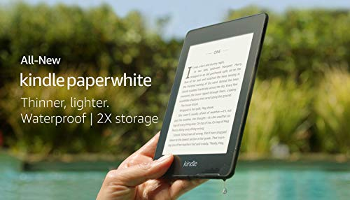 """All-New Kindle Paperwhite 4G LTE (10th gen) - 6"""" High Resolution Display with Built-in Light, 32GB, Waterproof, WiFi + Free 4G LTE 10"""