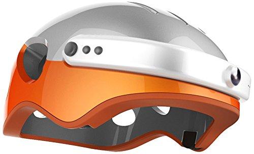 Run & Roll HD Radic Pro–Casco, UOMO, Casco HD Radic Pro, arancione, 54 - 63 cm