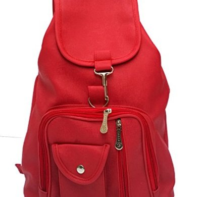 Vintage Stylish Synthetic School / College Backpack Bag For Girls (Bag R 124) 29