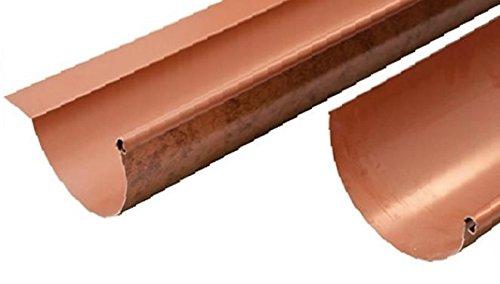Gronda Dachrinne Canala Aluminium Roof Kupfer 2Meter lineare–Alle Entwicklungen, ohne Klappe