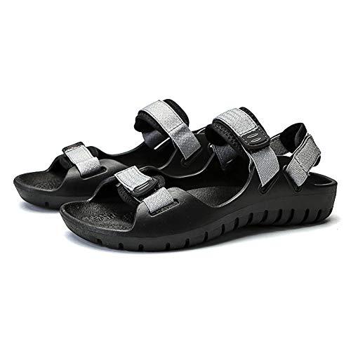 DierCosy Sandals Mesh Men Casual Velcro Beach Sandal all'aperto Open Toe Scarpe Leggere Sport...