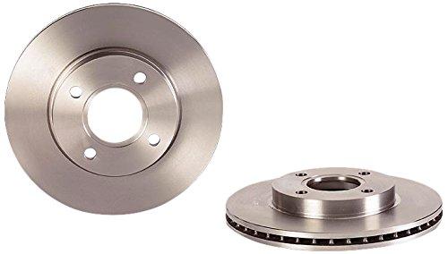 Brembo 09.7806.14 - Disco Freno Anteriore - Set di 2 dischi