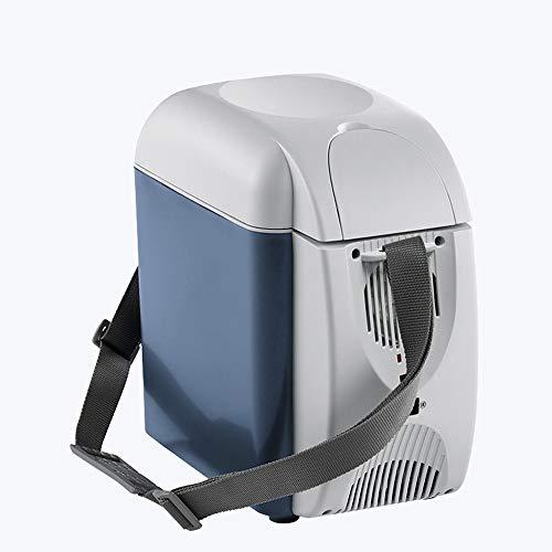 NYGJMNBX 7L Frigorifero Auto Muto Mini Frigo Scatola di Riscaldamento per la casa Portatile...