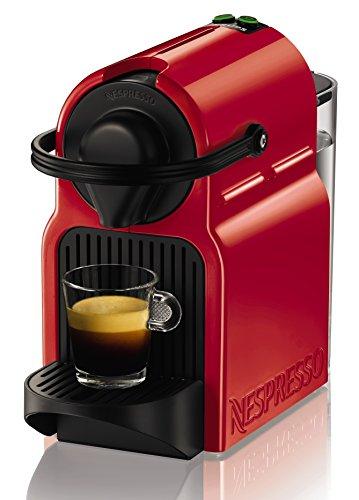 Nespresso Inissia XN1005 Macchina per Caffè Espresso, 1260 watt, Ruby Red