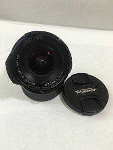 Voigtlander 15 mm f:4.5 Super Wide Heliar - Objetivo para Leica M (Diámetro: 52mm), negro