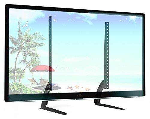 RICOO TV Ständer Universal FS502 Standfuß Halterung Höhenverstellbar Fernsehstand LCD LED Fernseher Stand Flachbildschirm Möbel Tischständer VESA 400x400 600x400