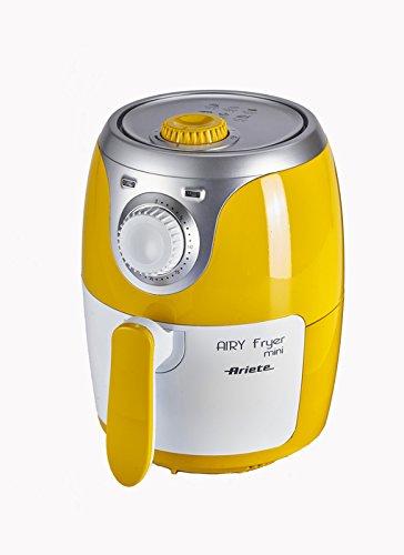 Ariete 4615 Airy Fryer Mini – Friggitrice ad aria senza olio, 1000 W, Capacità 2 Litri, 400 gr...