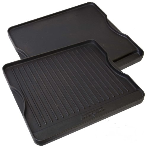 Camp Chef CGG16B Pre-Seasoned Reversible Cast Iron Grill/Griddle 1 Unit
