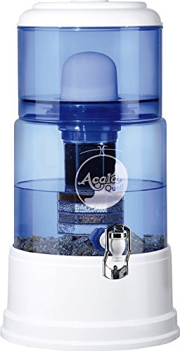 AcalaQuell Smart 12L water filter dispenser with cartridges bundle (white) (4 months of AcalaQuell Premium) (1 cartridge)