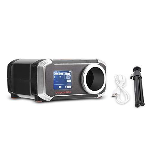 Suchinm Tester di velocità, Display LCD Bluetooth cronografo BB Tester di velocità per Sfera d'Acqua Esterna Tester di velocità con Sfera in Acciaio