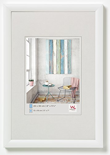 Walther Trendstyle, Cornice in plastica, Bianco, 30 x 40 cm