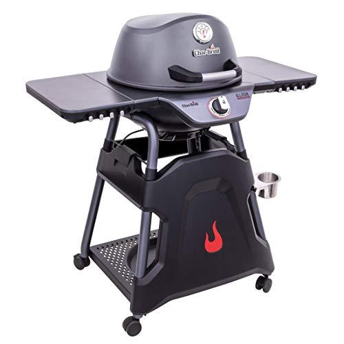 Char-Broil All- Star 125 Barbecue Elettrico, Nero/Allumino