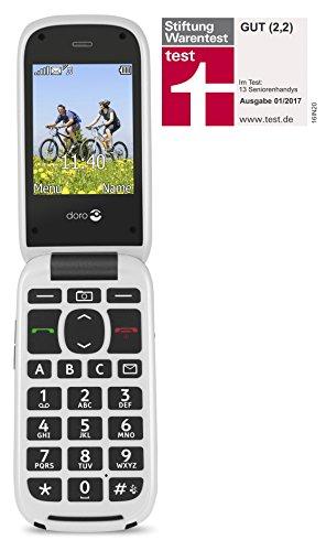 Doro PhoneEasy 613 Téléphone Portable à Rabat au Design élégant avec Appareil Photo 2MP, écran et Touches Larges, Bouton d'appel d'urgence 5