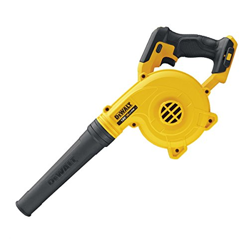 Our Runner-up cordless leaf blower is the DEWALT DCV100-XJ 18 V Li-Ion XR Compact Cordless Blower