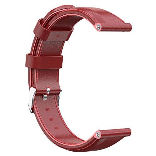 LOKEKE, Cinturino di Ricambio per Nokia Withings Steel HR (36 mm), Cinturino di Ricambio in Vera Pelle da 18 mm per Nokia Withings Steel/Steel HR (36 mm), Nokia Steel/Steel HR (36 mm)