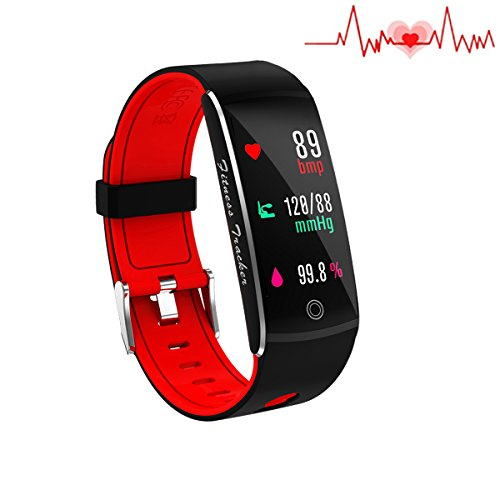 Fitness Tracker, Smart Watch 4 modalità Sport, cardiofrequenzimetro IP67 impermeabile Activity...