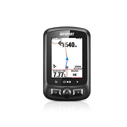 """iGPSPORT iGS618 (versión española) - Ciclo computador grabador datos y rutas GPS+GLONASS+Beidou. Navegación y seguimiento. Pantalla 2.2"""" color. ANT+ Detección de movimiento Alarmas Compatible Strava"""