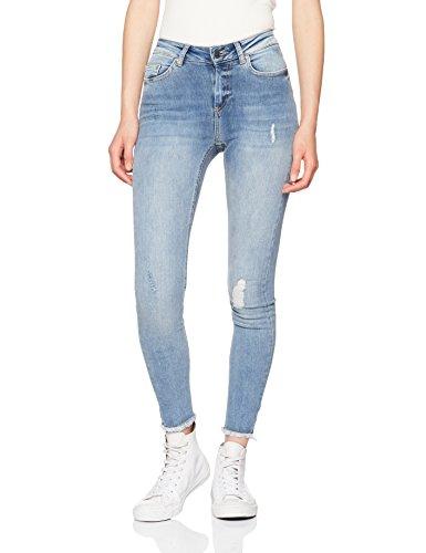 ONLY Damen Skinny Jeans 15151895, Blau (Light Blue Denim), 36/L32