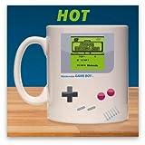 Nintendo - Tazza che cambia colore Game Boy Super Mario, 300 ml