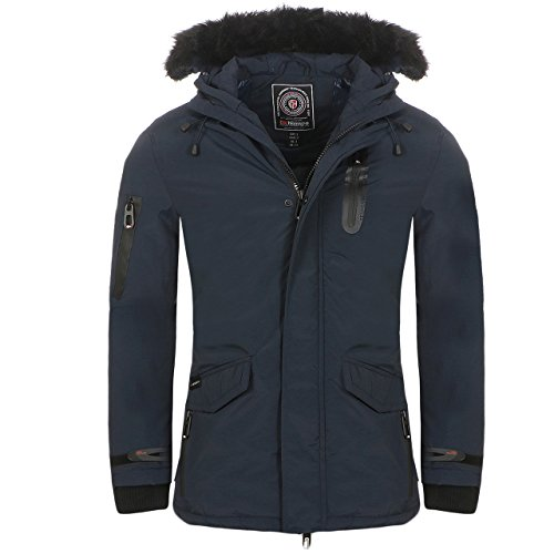Geographical Norway -  Giacca - Uomo Blu Scuro XL