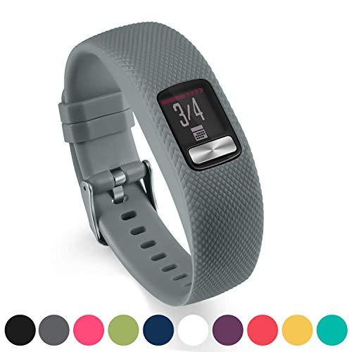 Cobar Compatibile con Garmin Vivofit 4 Cinturino, Silicone sportiv Braccialetto Banda per Garmin Vivofit 4 Activity Tracker, Sport Colorful Wristband for Vivofit 4 Smartwatch Large Small