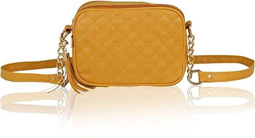 Kleio Women's Mustard Sling Bag