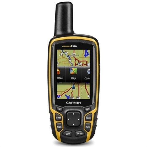 Garmin Map 64-Navigador GPS, Negro/Naranja