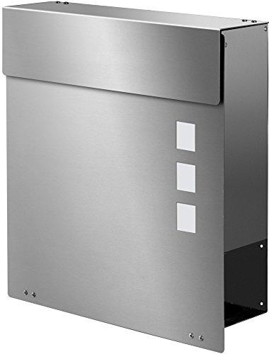 Frabox NAMUR EXKLUSIV Edelstahl Design Briefkasten