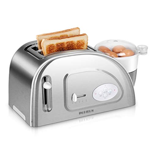 Rff Toaster 2 Slices Home Breakfast Spit Driver Automatico Tostapane Multifunzione Cottura...