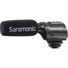 Saramonic sr-pmic1micrófono para DSLR/Videocámara, color negro