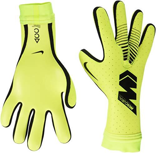 Nike Goalkeeper Mercurial Touch Elite, Guanto da Calcio Unisex Adulto, Giallo/Nero, 9