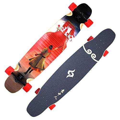 Hbpota-h Skateboard - 8 Strati di Acero Lungo Brush Brush Street Board Sun Wukong Cruiser 1213-hb