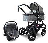 Cynebaby California Kombi-Kinderwagen 3in1 mit Babyschale