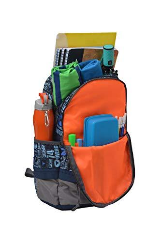 F Gear Burner 26 Liters P11 Sky Blue Casual Backpack 8